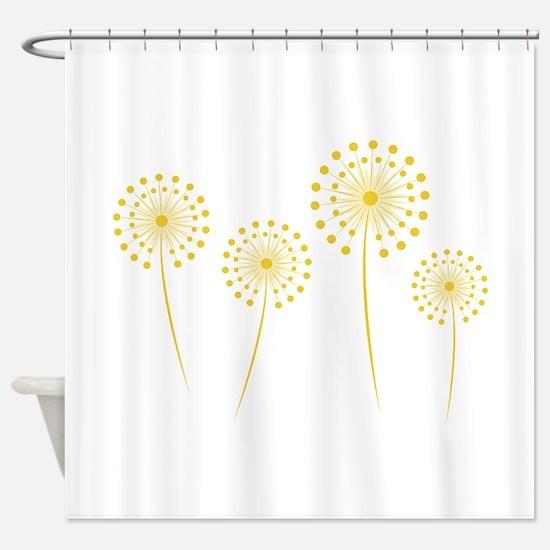 Dandelions Shower Curtain