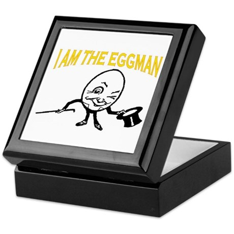 I AM THE EGGMAN Keepsake Box
