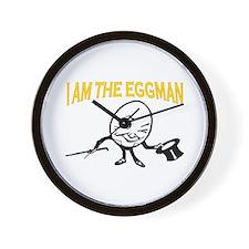 I AM THE EGGMAN Wall Clock