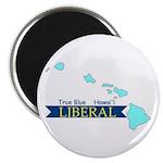 True Blue Hawai'i LIBERAL Magnet
