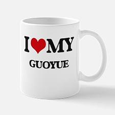 I Love My GUOYUE Mugs