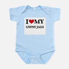 I Love My GYPSY JAZZ Body Suit