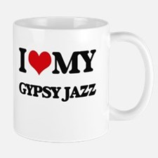 I Love My GYPSY JAZZ Mugs