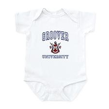 GROOVER University Infant Bodysuit