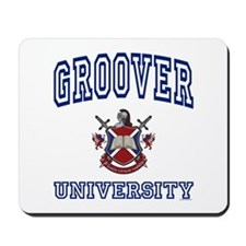 GROOVER University Mousepad