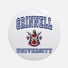 GRINNELL University Ornament (Round)