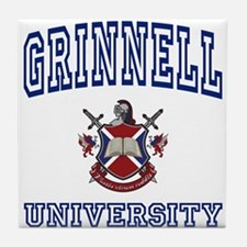 GRINNELL University Tile Coaster