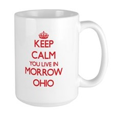 Keep calm you live in Morrow Ohio Mugs