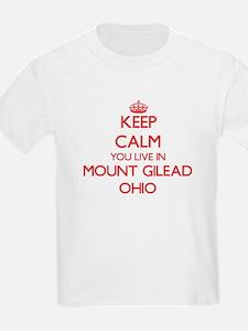 Keep calm you live in Mount Gilead Ohio T-Shirt
