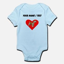 Custom Irish Terrier Heart Body Suit