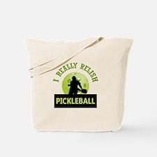 I RELISH PICKLEBALL Tote Bag
