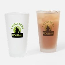 I RELISH PICKLEBALL Drinking Glass