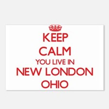 Keep calm you live in New Postcards (Package of 8)