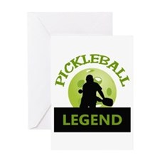 PICKLEBALL LEGEND Greeting Cards