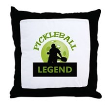 PICKLEBALL LEGEND Throw Pillow