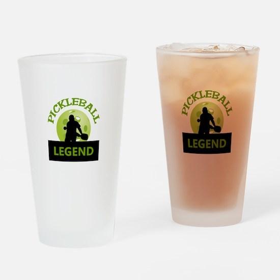 PICKLEBALL LEGEND Drinking Glass