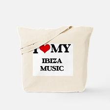 Cool I love ibiza Tote Bag