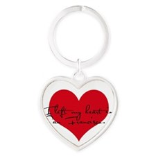 Cool Bear Heart Keychain