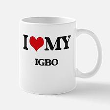 I Love My IGBO Mugs