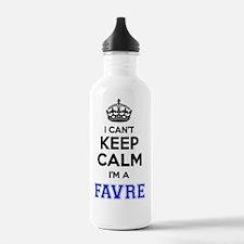 Funny Favre Water Bottle