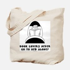 Book Lovers Bed-Male<br> Tote Bag