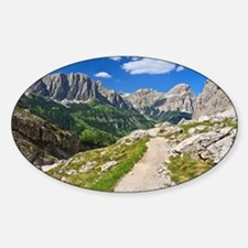 Dolomiti - footpath in Val Decal