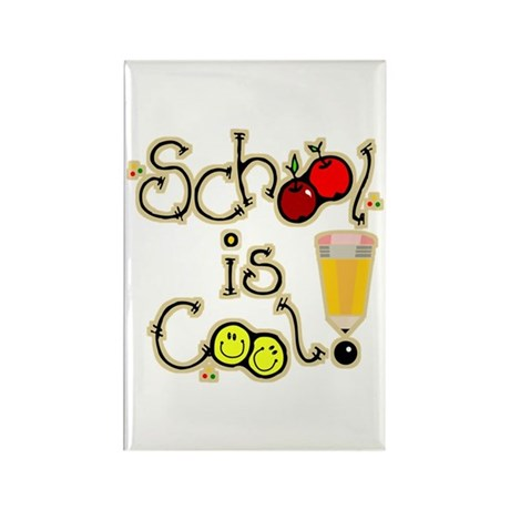 SCHOOL is COOL! Rectangle Magnet