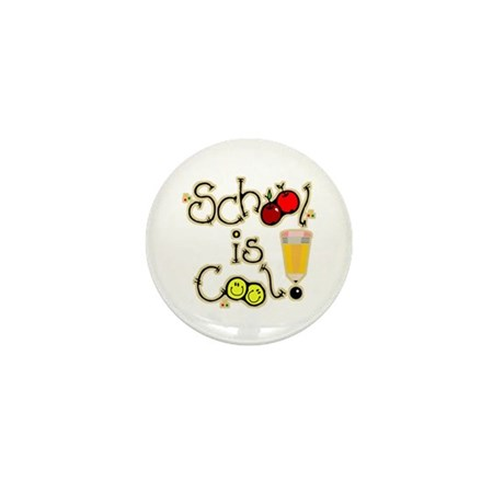 SCHOOL is COOL! Mini Button (10 pack)