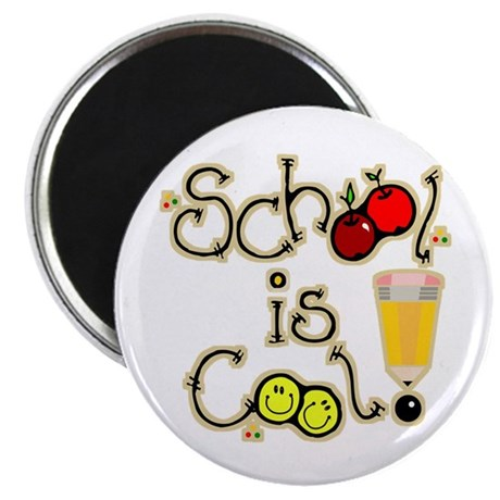 "SCHOOL is COOL! 2.25"" Magnet (100 pack)"