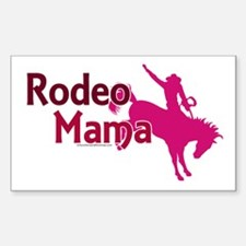 Rodeo Mama Rectangle Decal