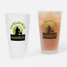 PICKLEBALL MADNESS Drinking Glass