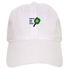 PADDLES WELL WITH OTHERS Baseball Baseball Cap