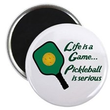 PICKLEBALL IS SERIOUS Magnets