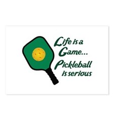 PICKLEBALL IS SERIOUS Postcards (Package of 8)