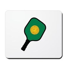 PICKLEBALL AND PADDLE Mousepad