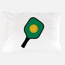PICKLEBALL AND PADDLE Pillow Case