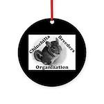 Chinchilla Breeders Org Ornament (Round)