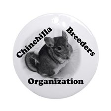 Chinchilla Breeders Org Ornament (Round)