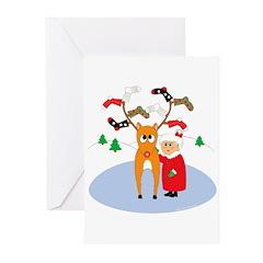 Rudolf's Toasty Christmas! Cards (Pk of 10)