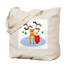 Rudolf's Toasty Christmas! Tote Bag