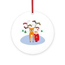 Rudolf's Toasty Christmas! Ornament