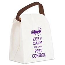 Funny Exterminator Canvas Lunch Bag