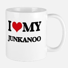 I Love My JUNKANOO Mugs