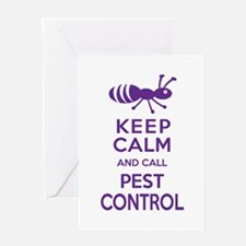 Funny Exterminator Greeting Cards