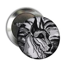 "2.25"" Great Dane Buttons (10 pack)"