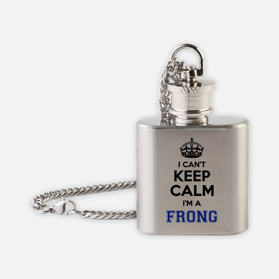 Funny Frong Flask Necklace