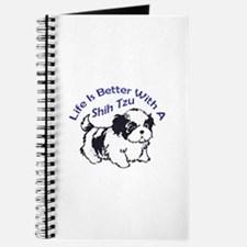 BETTER WITH SHIH TZU Journal