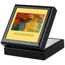Sandy Beach Shorebird Keepsake Box