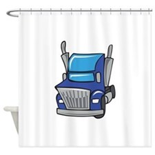 TRUCK CAB Shower Curtain