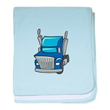TRUCK CAB baby blanket